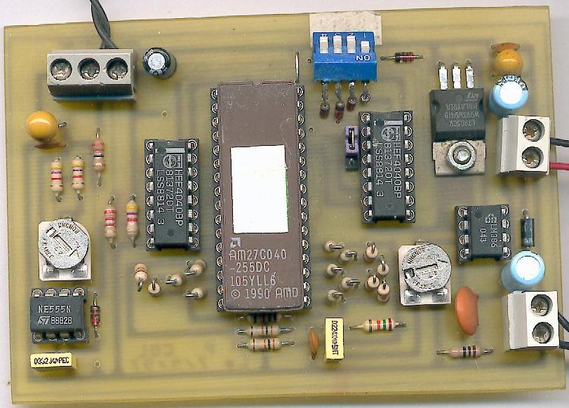 Le prototype vu côté composants